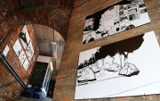 """Jajaverlag: Ausstellung von Tine Fetz (""""This is not Uganda"""") zur Literaturwoche Ulm - in der """"Stiege"""" in Ulm."""