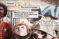 TOBISCH: Joachim Brandenberg hat einen fantastischen Comic gestaltet! Auf gut 100 Seiten hat er eine Kurzgeschichte des amerikanischen Schriftstellers O. Henry adaptiert.