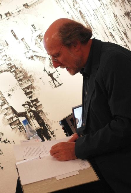 """Josef Feistle: Lesung aus dem neuen Manuskript """"Italienreise"""""""