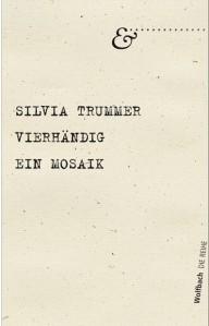 Lesung am 1. 7. 2014: Silvia Trummer und ihr neues Buch VIERHÄNDIG