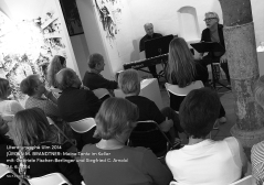 Die Tante im Keller: Volles Haus bei Jürgen M. Brandtner am 24. 6. 2014.