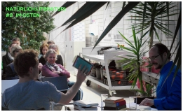 Montag, 25.05.15, 19.30 Uhr: Lesung der Literaturreihe im Botanischen Garten. IM OSTEN (Termin 2)