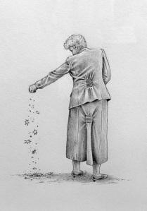 Sternestreusel - Zeichnung von Einar Turkowski