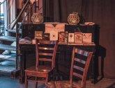 Verlagsabend im Café D'Art in Neu-Ulm.  Foto: Patrick Schmidt