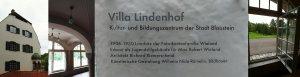 """Das Trio """"Teatrino"""" und """"Alphornsusi"""" Marei Richter präsentierten das vergnügliche Musiker-Buch """"Molto Giocoso!"""" in der Lindenhofvilla in Herrlingen am 7. August 2016. Foto: M. Reutter"""