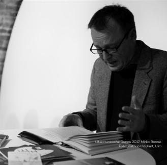 Literaturwoche Donau 2017. Mirko Bonné.