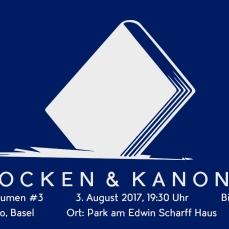 Literatur unter Bäumen 3 - am 3. August 2017.