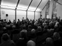 Volles Haus: Mehr als 170 Gäste zur Eröffnung der Literaturwoche Donau 2017 mit Mohamed Amjahid. Foto: Häckert.