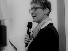 Schirmherrin Iris Mann sprach das Grußwort. Foto: Kathrin Häckert