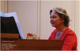 26. 6. 2015: Johanna Sander am Piano.