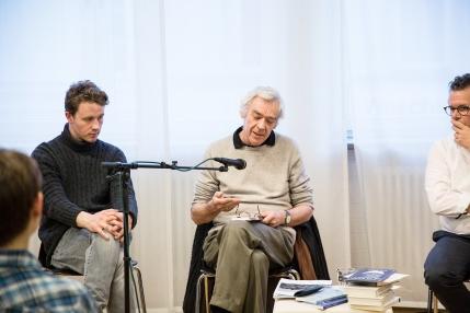 """Roger Monnerat liest aus seinem Buch """"Am Ende der Rhein"""" (Edition Sacré, 2015)"""