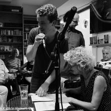 Christel Mayr las aus den Novellen und Essays von Stefan Zweig. 31. 8. 2016. Foto: Kathrin Häckert, Ulm