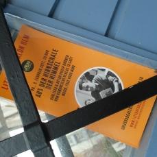 Do., 9. Februar 2017, 20 Uhr Aus der Hirnschale der Himmel Verleger & Autor Philip Krömer vom Homunculus Verlag zu Gast beim Literatursalon Ulm, in der Griesbadgalerie. Musik: Free your mind (About Ally)