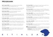 Es ist angerichtet: Programm Literaturwoche Donau 2017