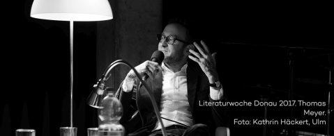 Lesung Thomas Meyer zur Literaturwoche Donau 2017 in der vH Ulm. Foto Kathrin Häckert