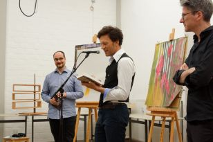 Lesung von Ralf Schlatter mit Michael Wernli, Sounds